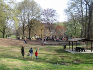 Candler Park is convenient for Central and North Decatur folks, and you just can't beat that beautiful green space!