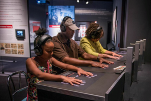 The museum is incredibly powerful and engaging, with a experiential lunch counter sit-in simulator.